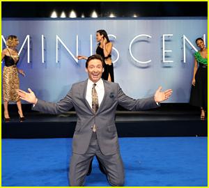 Hugh Jackman & 'Reminiscence' Stars Take Socially Distant Photos at London Premiere!