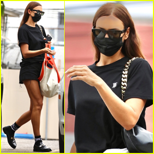 Irina Shayk Hits the Gym Following News of Her Split From Kanye West