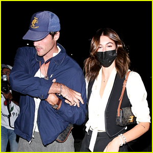 Jacob Elordi & Kaia Gerber Spotted Grabbing Sushi with Friends in L.A.