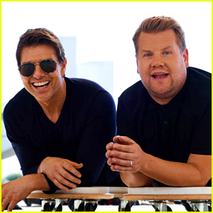 James Corden Reveals the Text Messages He Got from Tom Cruise with a Crazy Request