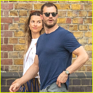 Jamie Dornan Spotted in Rare Public Outing with Wife Amelia Warner!