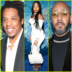 Jay-Z is Joined by Megan Thee Stallion & Swizz Beatz at His 40/40 Club Anniversary Party!