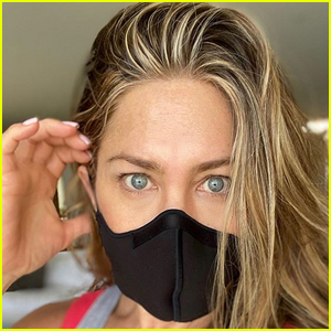 Get the Face Mask Jennifer Aniston Is Wearing for Under $20!