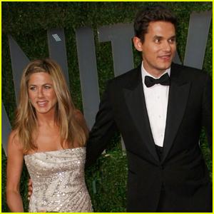 Jennifer Aniston Reacts to Dog Collar Internet Theory Involving Ex John Mayer