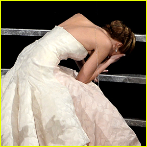 Kristen Stewart's 'Spencer' Poster Is Getting Compared to Jennifer Lawrence's Oscars Fall in 2013