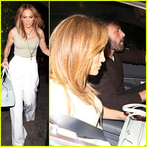 Jennifer Lopez & Ben Affleck Spotted Getting Dinner at L.A. Hotspot with Her Daughter Emme