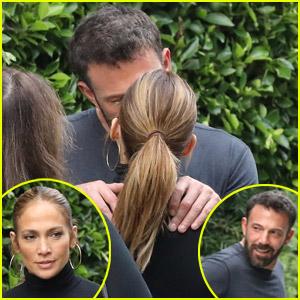 Jennifer Lopez & Ben Affleck Get Frisky Before Heading Out On Separate Errands