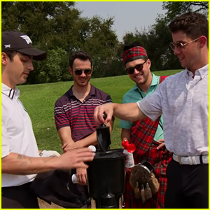 Joe Jonas Puked During a Round of Golf with Niall Horan & His Brothers (Video)