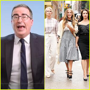 John Oliver Puts 'Sex & The City' Revival On Blast For Not Including Kim Cattrall's Samantha Jones
