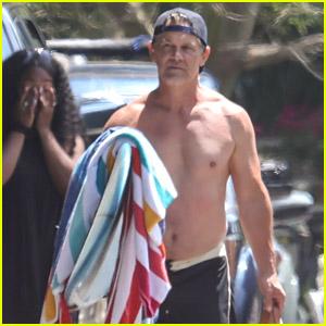 Josh Brolin Looks Ready for His Beach Day!