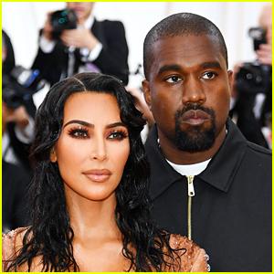 Kim Kardashian Wears Wedding Dress, Kanye West Lights Himself on Fire at 'Donda' Event