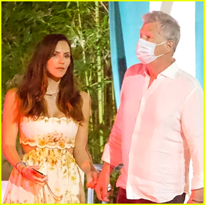 Katharine McPhee Gives David Foster a Sweet Kiss After Tuesday Night Dinner Date