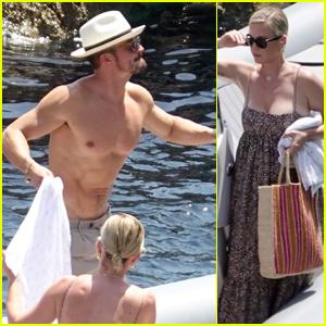 Katy Perry & Orlando Bloom Soak Up the Sun in Capri