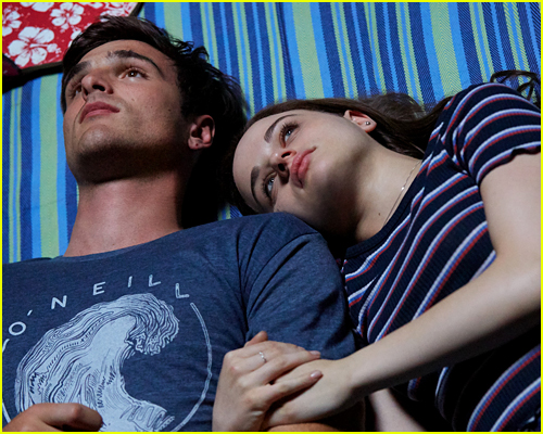 Joey King and Jacob Elordi in The Kissing Booth 3