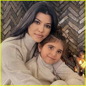 Kourtney Kardashian's Daughter Penelope Disick Debuts Fiery Red Hair!