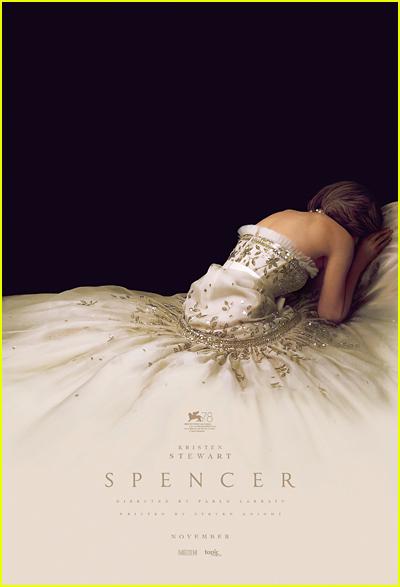 Kristen Stewart as Princess Diana in Spencer poster