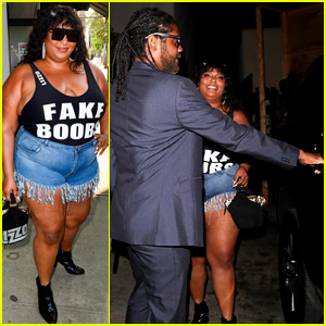 Lizzo & a Mystery Man Grab Dinner Together at Craig's!