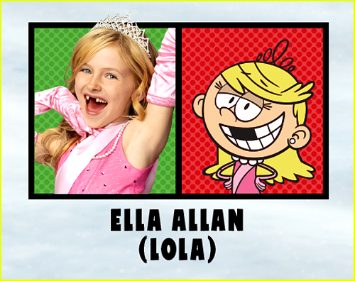 Ella Allan in The Loud House Movie