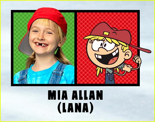 Mia Allen in The Loud House Movie