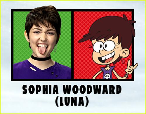 Sophia Woodward in The Loud House Movie