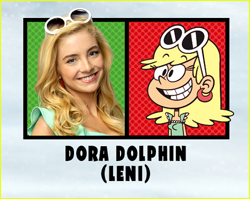 Dora Dolphin in The Loud House Movie