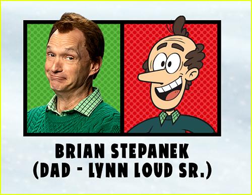 Brian Stepanek in The Loud House Movie