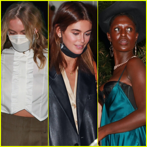 Margot Robbie, Kaia Gerber, & Jodie Turner-Smith Attend Rami Malek's 'No Time to Die' Screening!