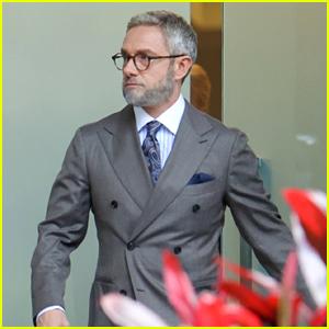 Martin Freeman Suits Up on 'Black Panther 2' Set in Atlanta - New Photos!