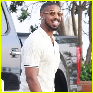 Michael B. Jordan is All Smiles Grabbing Lunch with Friends at Nobu