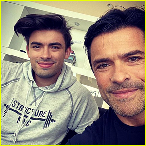 Michael Consuelos Reacts to People Calling His Parents 'Relationship Goals'