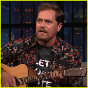 Michael Shannon Performs Song He Wrote at 15 About Armadillos - Watch Now!