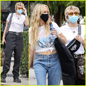Miley Cyrus Goes Furniture Shopping With Mom Tish Cyrus in LA