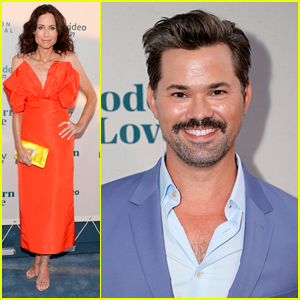 Minnie Driver & Andrew Rannells Step Out For 'Modern Love' Season Two Premiere in NYC