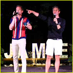 Neil Patrick Harris & David Burtka Transformed Their Backyard for an Incredible 'Everybody's Talking About Jamie' Screening Event!