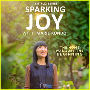 Marie Kondo Shares More Tidying Up Tips In New Netflix Series 'Sparking Joy'