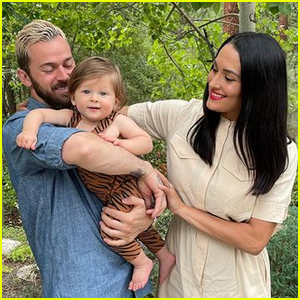 Nikki Bella & Artem Chigvintsev Share Adorable Photos From Son Matteo's First Birthday Party!