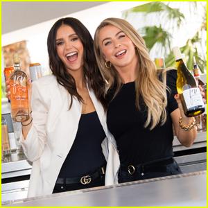 Nina Dobrev & Julianne Hough's Fresh Vine Wine Announces Partnership with L.A. Chargers!