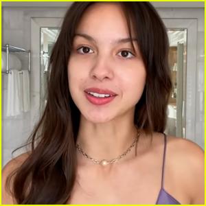 Olivia Rodrigo Reveals Her Skin Care & Makeup Routine