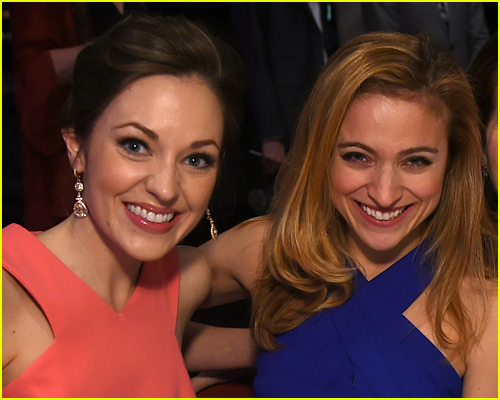 Christy Altomare and Laura Osnes photo