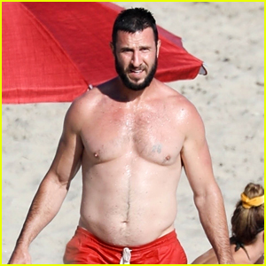 'Halo' Actor Pablo Schreiber Goes Shirtless During a Malibu Beach Day