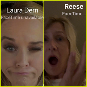 Reese Witherspoon & Laura Dern Are Sharing Their Hilarious Game of Phone Tag with Fans