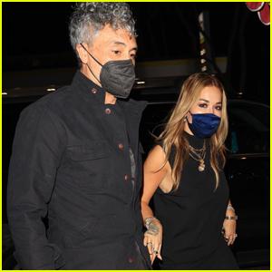 Rita Ora & Taika Waititi Stay Close During Date Night in West Hollywood
