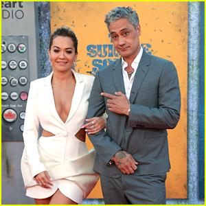Rita Ora & Taika Waititi Make Red Carpet Debut at 'The Suicide Squad' Premiere (Photos)