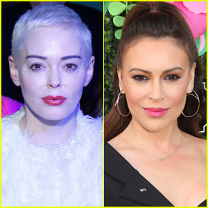 Rose McGowan Calls Out Alyssa Milano: 'Your Time Is Up'
