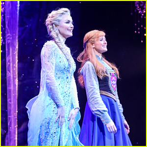 'Frozen,' Starring Samantha Barks as Elsa, Opens in London with a Summer Snowfall (Photos)