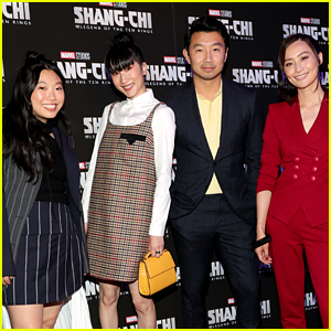 'Shang-Chi' Stars Step Out for NYC Screening of Their New Marvel Movie (Photos)
