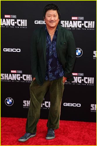 Benedict Wong at the premiere of Shang-Chi and the Legend of the Ten Rings