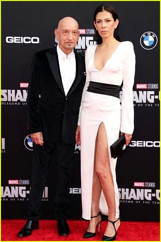 Ben Kingsley at the premiere of Shang-Chi and the Legend of the Ten Rings