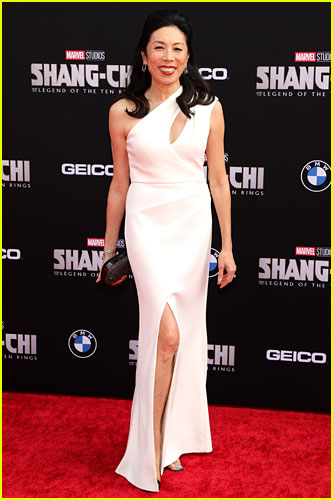 Jodi Long at the premiere of Shang-Chi and the Legend of the Ten Rings