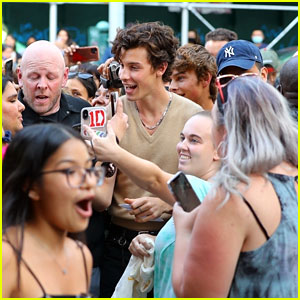Shawn Mendes Causes a Fan Frenzy in NYC - See Photos!